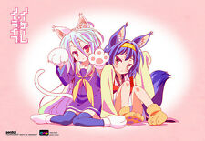 No Game No Life Wall Scroll Poster Officially Licensed CWS-20305 New