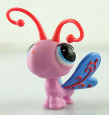Cute Hasbro Littlest Pet Shop LPS Figure Pink Butterfly Toy Animals New L164