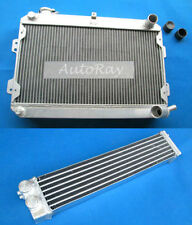 Aluminum Radiator +Oil cooler for Mazda RX7 RX-7 SA/FB S1 S2 S3 MT Series 1/2/3