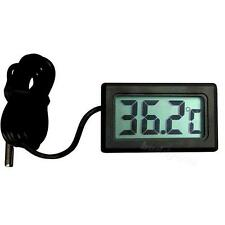 New Digital LCD Car Fridge Incubator Fish Tank Meter Gauge Thermometer EVHP