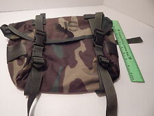 Buttpack, Butt Pack, Field Pack, Woodland Camo, New, Never Issued, Molle