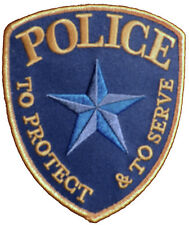 POLICE PATCH GENERIC  • MOVIE PROP • NEW• ORIGINAL MY © DESIGN