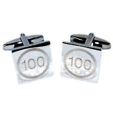 100 Years Old Birthday Speed Limit Engraved CUFFLINKS Party Birthday Present