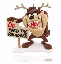"New 2015 HALLMARK KEEPSAKE ""FEED THE REINDEER"" Taz Ornament - LOONEY TUNES"