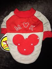 Tiny Red Warm Jumper Chihuahua Puppy Cat Dog Clothes XXS XS 28cm
