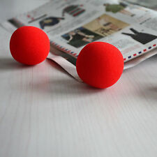 New 10PCS Close-Up Magic Street Classical Comedy Trick Soft Red Sponge BallHU