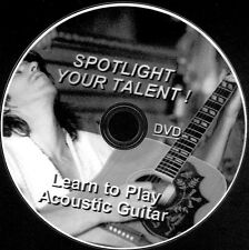Easy AcousticGuitar Lessons For Beginners DVD