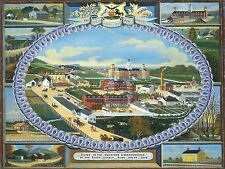 CHARLES HOFMANN AMERICAN BERKS COUNTY ALMSHOUSE OLD ART PAINTING POSTER BB5085A