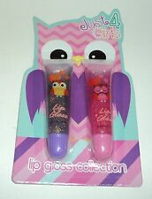 JUST FOR GIRLS  2 Sparkle Lip Gloss Set NIP