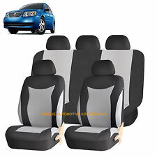 GRAY SPEED AIRBAG COMPATIBLE SEAT COVER SET for SATURN ION RELAY VUE