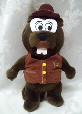 Sheriff Willie Beaver Vintage Plush Star Soft Paws 1990 Positive Choices Animal
