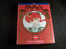 Ranma 1/2 TV Series Set 1 Rare OOP 3 Disc Blu-ray Set 23 Restored Episodes
