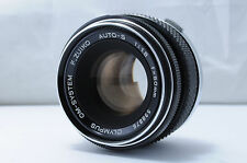 【Very Good】 Olympus OM-System F.Zuiko Auto-S 50mm F1.8 MF Lens From Japan