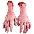 1Pc Lifesize Human Arm Hand Bloody Body Dead Parts Haunted House Halloween Prop