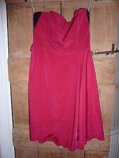 Karen Millen pink  strapless cocktail dress, prom. Size 10