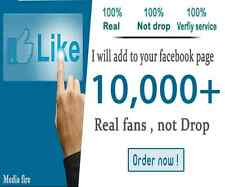 Get +10.000 Facebook Page Like For 60 $