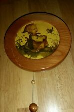 Vintage 'REUGE' EDLE plays Yellow Bird Music Box made in W. Germany Wall Mount
