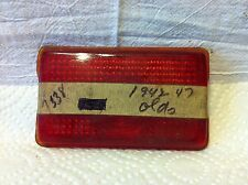 Tail light lens, for Oldsmobile, 1942 to 47; NOS and good.  0665