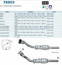 Pot catalytique Audi A3 1.8i 20V Turbo 1781cc 132Kw/180cv AUQ 5/00 6/03 Magnaflo