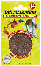 TETRA VACATION FEEDER 14 DAY FISH FOOD SLOW RELEASE FREE SHIPPING IN THE USA