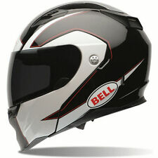 Bell Revolver EVO Modular Ghost Full Face Motorcycle Helmet MEDIUM Black