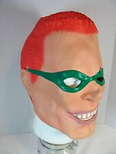 BATMAN'S THE RIDDLER (JIM CARREY) FULL OVERHEAD LATEX MASK HALLOWEEN COSPLAY
