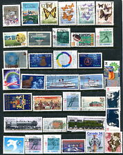200 Different Used Canada Off Paper COMMEMORATIVE Stamps (Lot #d2)