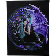 Fantasy Gothic Art Canvas Wall Plaque~Niaid~by Anne Stokes~42~uk seller