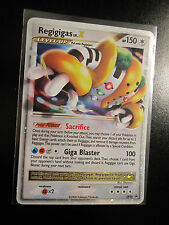 EX Pokemon REGIGIGAS LV.X Card Black Star PROMO Set DP30 Ultra Rare Tin Holo TCG