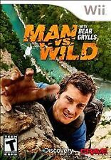 Man vs. Wild With Bear Grylls WII NEW! SURVIVAL, HUNT, HUNTER, SURVIVE DISCOVERY
