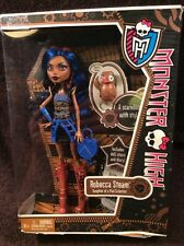 Monster High Robecca Steam First Wave Doll with Captain Penny New RARE