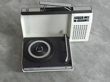 1970s radiola- Philips 423 Portable Suitcase vintage Turntable Record player