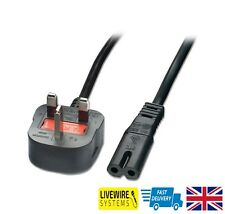 UK Power Lead Cable Canon Pixma MP500 MP510 MP520 MP530 MP540 MP550 Printer