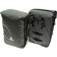Axiom Typhoon Aero DLX Waterproof Pannier Set Gray/Black