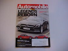 AUTOMOBILE February 2012 (2013 CX5/Lexus GS,1964 Buick Riviera,2012 Porsche 911S