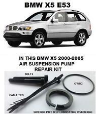 BMW 5 SERIES E39  X5 E53  WABCO Air Suspension Pump Piston Ring,Seal,Refurb kit