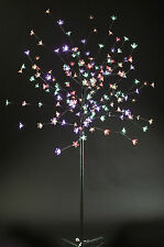 5ft 180 MULTI COLOUR LED Lights Christmas Cherry Blossom Tree Indoor Or Outdoors