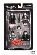 Sin City Minimates Series 3 The Big, Fat Kill Box Set