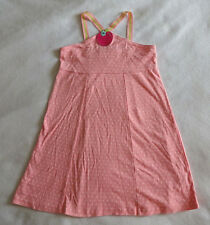 Gymboree Candy Apple Girls 9 Pink Polka Dot Sun Dress Rhinestones Back To School