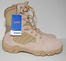 Bates GX-8 Composite Toe Side Zip Desert Tactical Boot E02276 Military Men's 9