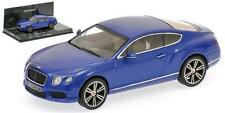 Minichamps Bentley Continental GT v8 2011 azul metalizado 1:43 (436139982)