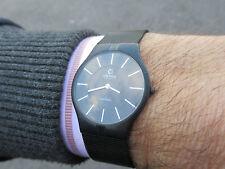 OBAKU Harmony da Ingersoll PVD nero cassa in titanio S/S mesh bracelet facile lettura