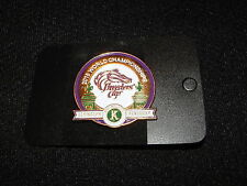 AMERICAN PHAROAH HORSE RACING BUTTON PIN 2015 BREEDERS CUP GRAND SLAM KEENELAND