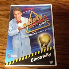 Disney BILL NYE THE SCIENCE GUY-ELECTRICITY-Safety Smart Science DVD new/sealed