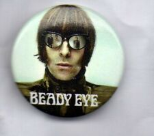 BEADY EYE Liam Gallagher  BUTTON BADGE English Rock Band - The Roller  25mm Pin