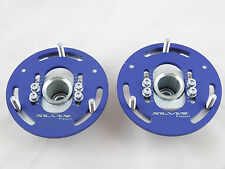 Camber Plates E46 3D Drift BMW top mounts Front x2 - Domlager blue