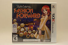 Style Savvy Fashion Forward (Nintendo 3DS, 2016)