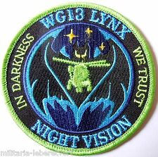 Insigne Patch AERONAVALE MARINE FLOTTILLE HELICOPTERES 31 F LYNX NIGHT VISION