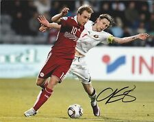 CHRISTIAN ERIKSEN DENMARK INT 2010- ORIGINAL HAND SIGNED LARGE PHOTOGRAPH
