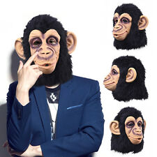 Halloween Monkey Latex Mask Animal Head Mask Cosplay Mask Party Costume Mask